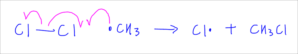 Free Radical Substitution - Propagation Step 2